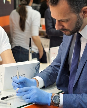 Dr Beolchi using Mosaic